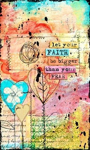 today let your faith in yourself and in recovery be bigger than your fear...