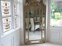 art deco style mirror 60cm wide x 72cm high