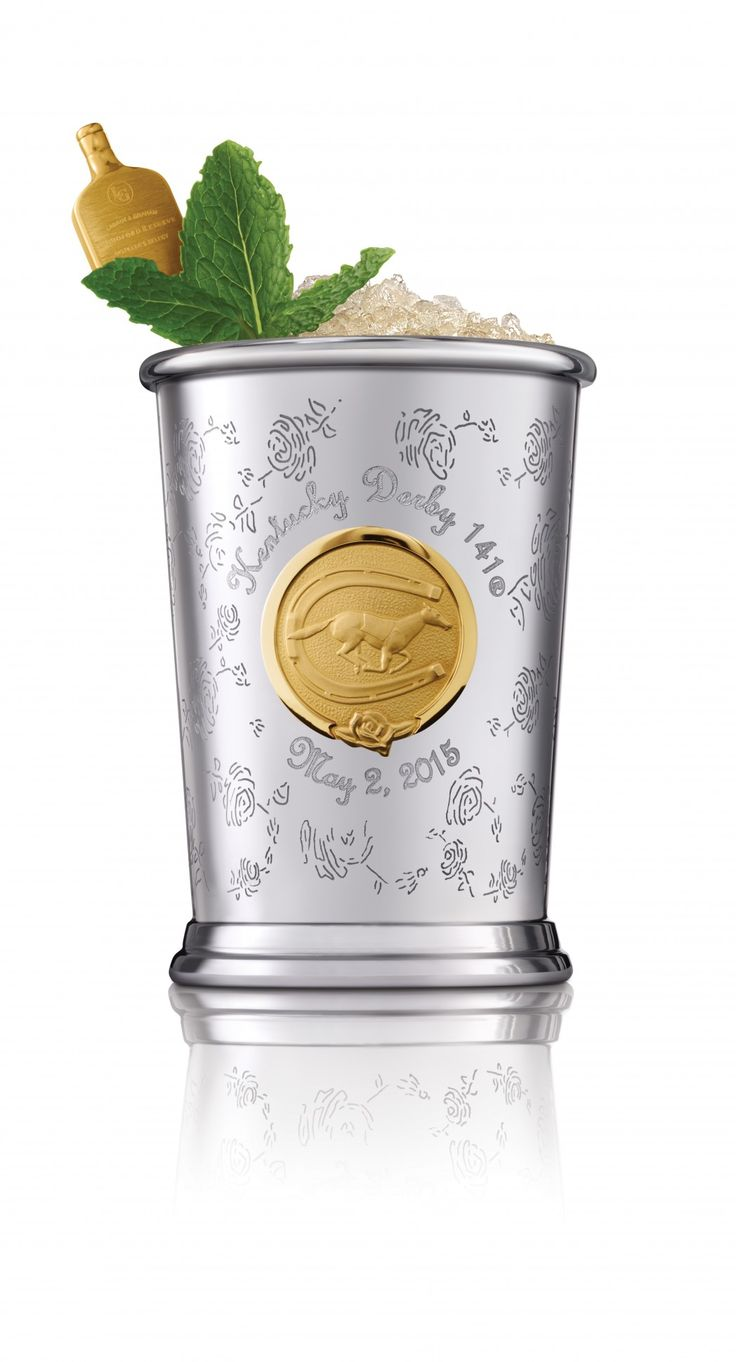 The Limited Edition Kentucky Derby Victory Mint Julep cup
