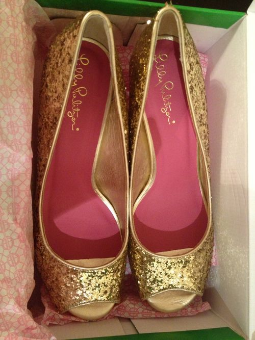 Lilly shoes.