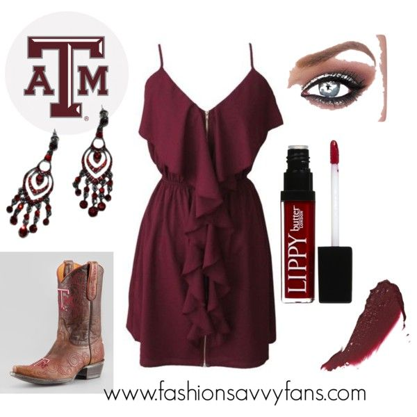 """Game Day Texas A&M"" by fashionsavvyfan on Polyvore  #TexasA&M #Gigem #Aggies"
