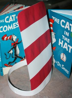 cat in the hat. Child could wear it when they are their turn at reading.