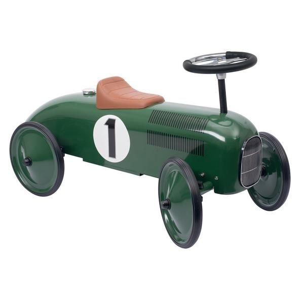 GOKI Green Metal Ride-on Vehicle