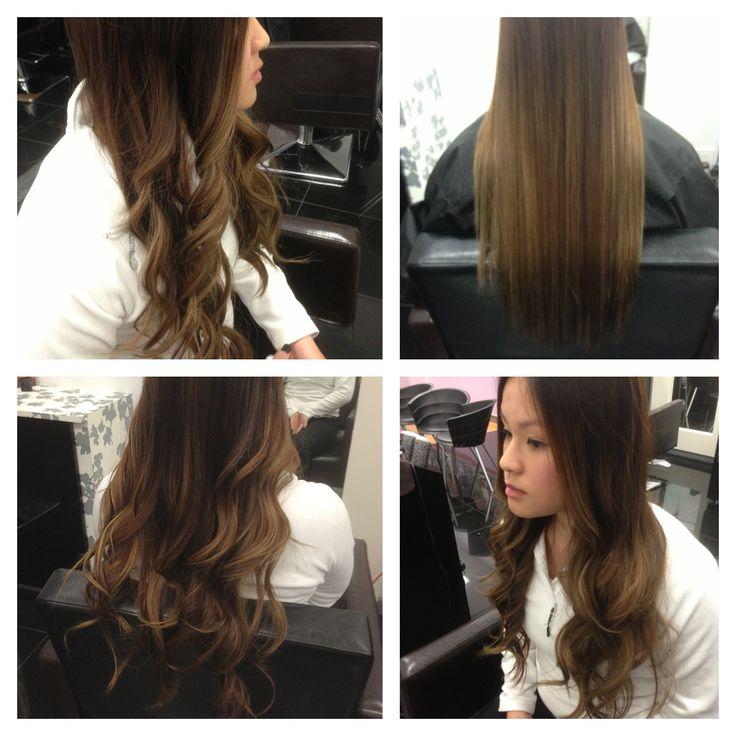 Balayage ombrélight looks beautifully soft on straight hair @ Sune www.mysune.com