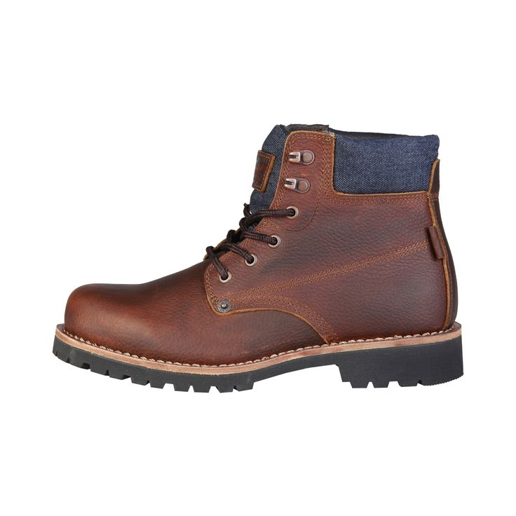 Run your Elegance 365 days a year! Elegance is a mindset Angel Brown - Levis - Brown Leather hiking Boots for Men - Runit365 your Elegant Men Store  #tie #boots #leather #classy #menswear