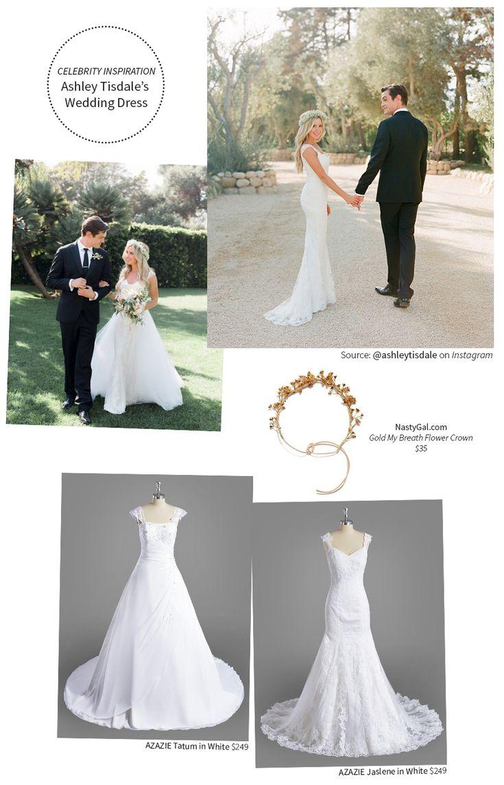 Best 20 ashley tisdale wedding ideas on pinterest vanessa like the dress ombrellifo Choice Image