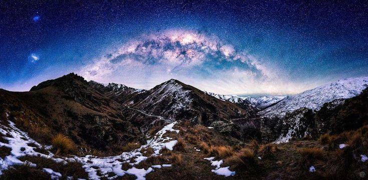 O νυχτερινός ουρανός της Νέας Ζηλανδίας είναι μαγευτικός