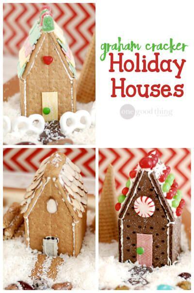 Graham Cracker houses