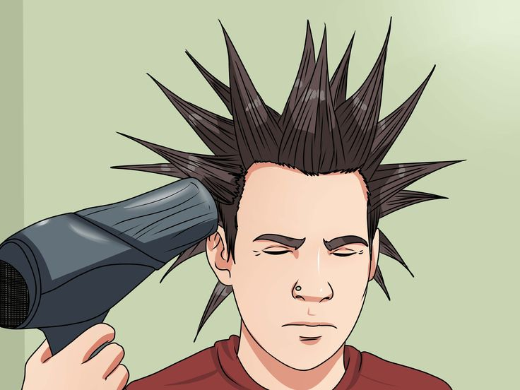 How to Liberty Spike Your Hair