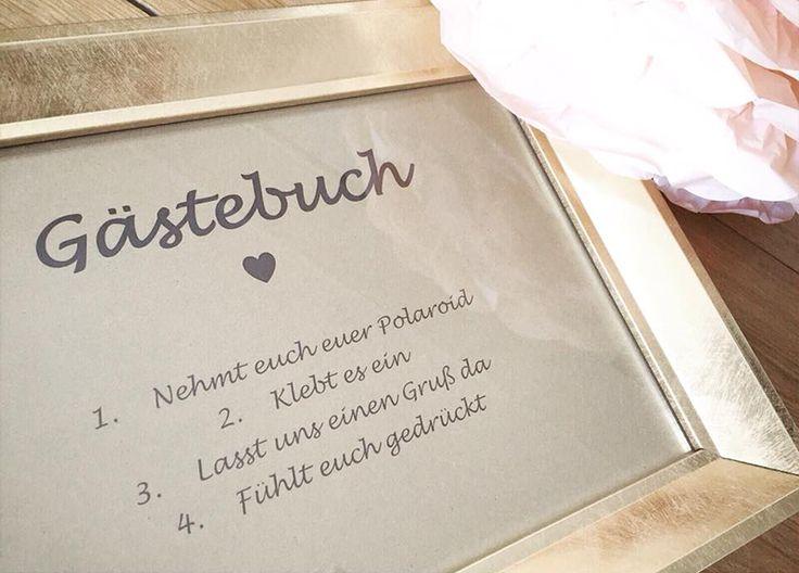 DIY-Hochzeit - #Gästebuch