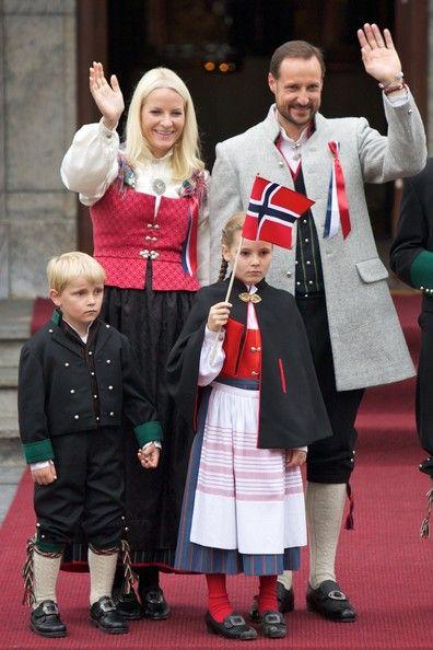 Norwegian Royal Family celebrates the national day.