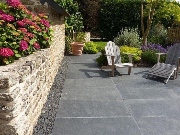 38 best Terrasses images on Pinterest Landscape planner, Pergolas - espacement plot beton terrasse