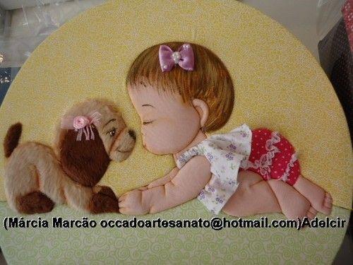 Pç da minha aluna Adelcir - Marcia Marcão Pano Pintado - Terra Fotolog
