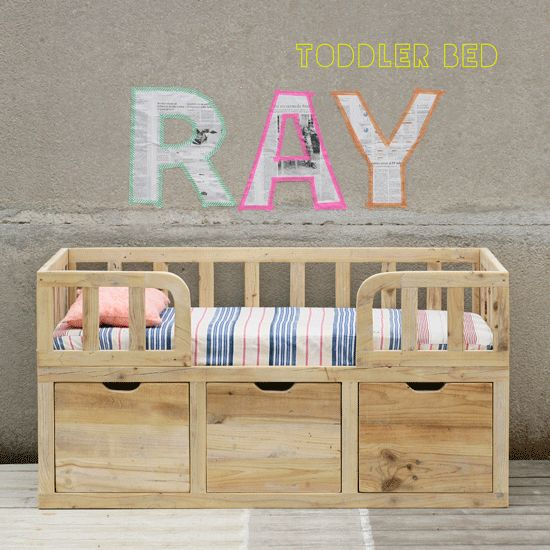 RAY toddler bed and sofa