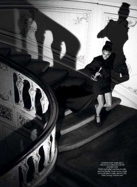 FILM NOIR FASHION STEPS by VICTORIA BECKHAM