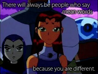 I love Teen Titans. This is one of my fav quotes. (for those of you who don't get it, Starfire's from another planet and doesn't know many normal customs)