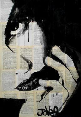 "Saatchi Art Artist Loui Jover; Drawing, ""sometimes"" #art"