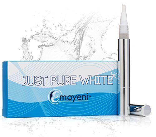 Teeth Whitening Gel Pen By Emoyeni® - Peroxide Free - Natural Ingredients - 100% Satisfaction Guarantee - Best How to Whiten Teeth At Home Kit. No Strips Whitener Just Pure White http://www.amazon.com/dp/B00C8U19MS/ref=cm_sw_r_pi_dp_u0cevb0BXEYPK