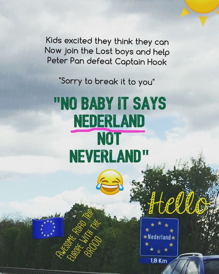 #roadtrip #baby #kids #parents #travel #travelphotography #holiday #instagood #instagram #instalike #instadaily #picoftheday #babystudiopro #peterpan #neverland #mumlife #sorrymom #sorrykids #nederland #pintrest