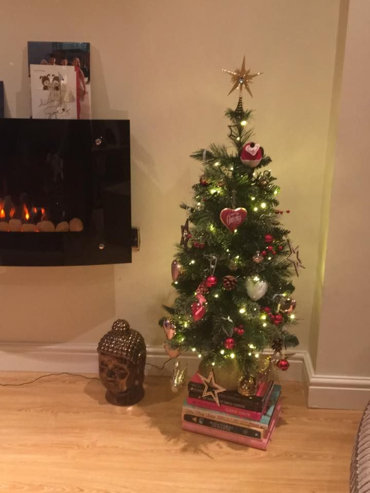 heather elizabeth anscombe my first ever little christmas tree in my own home - Little Christmas Tree