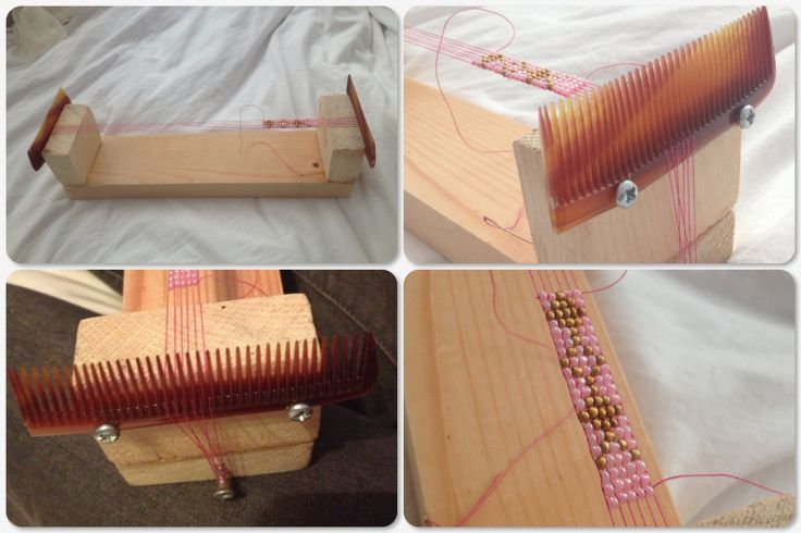 make your own beading loom diy jewelry