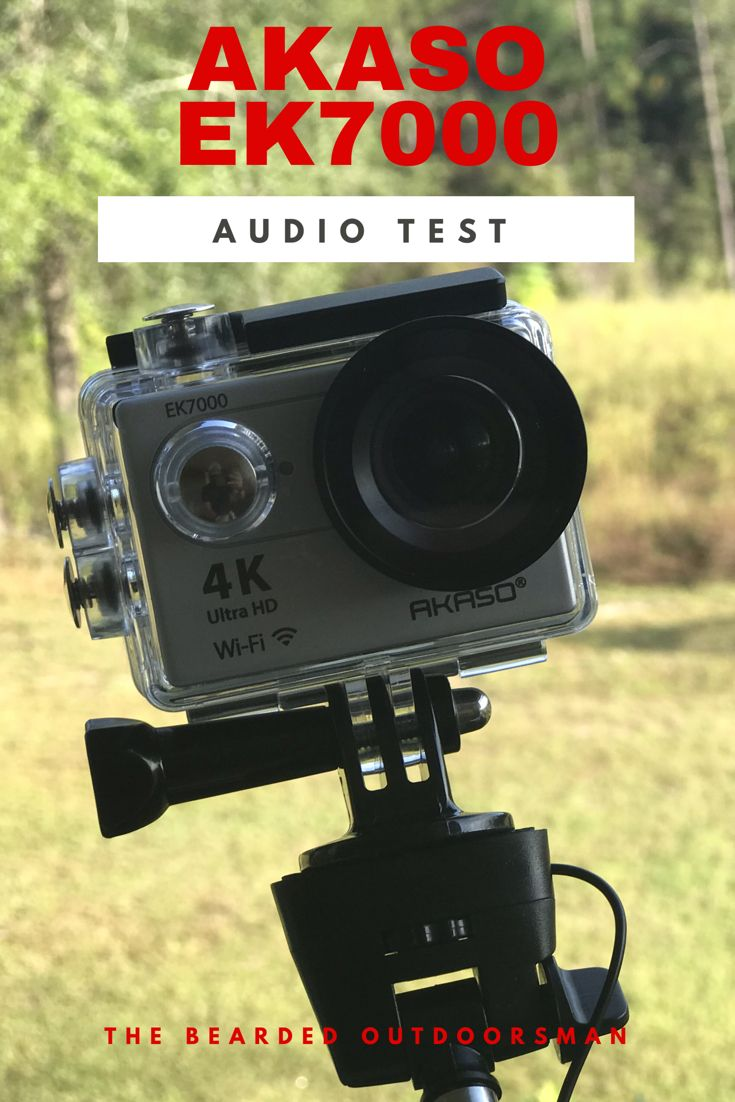 A short video review of the audio quality of the Akaso
