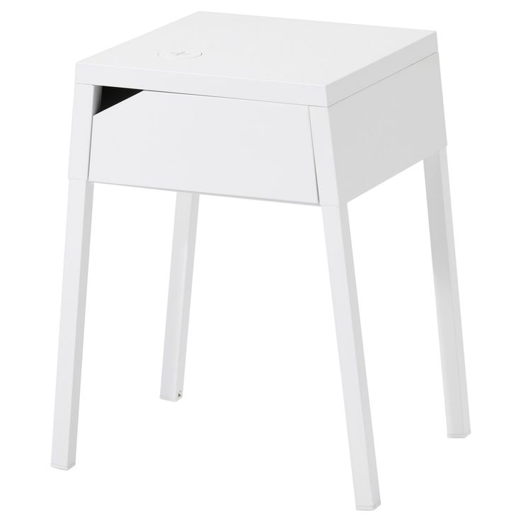 46 Ikea Products Almost As Good As The Meatballs #refinery29  http://www.refinery29.com/ikea-furniture#slide-3  This cool nightstand has more than just good looks; the table includes a wireless charger. Ikea Selje Nightstand, $59.99, available at Ikea....