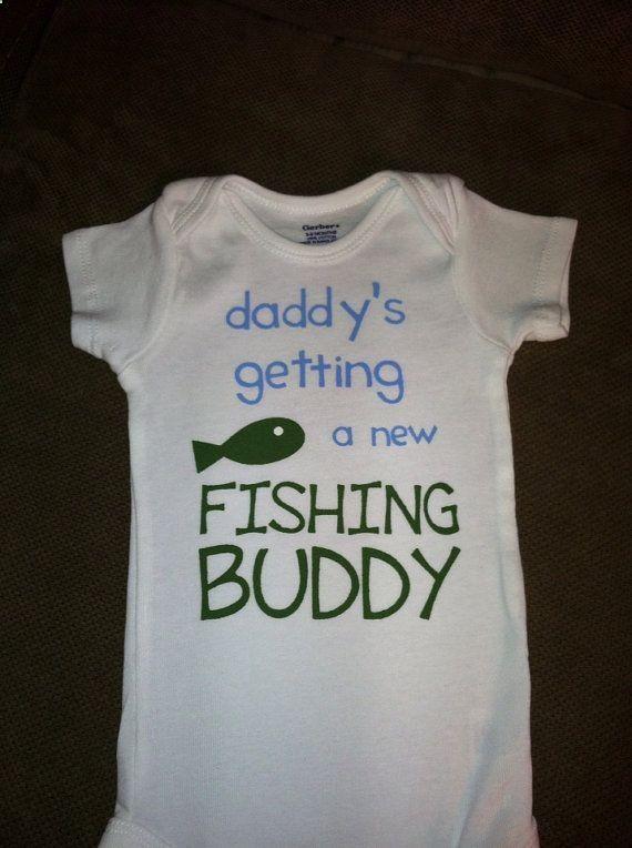 29 best for the kids images on pinterest pregnancy for Fishing shirt onesie