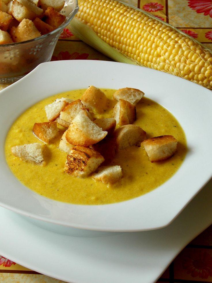 Gotowanie jest łatwe: Złota zupa kukurydziana