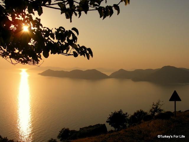 Ölüdeniz Sunset From The Faralya Road