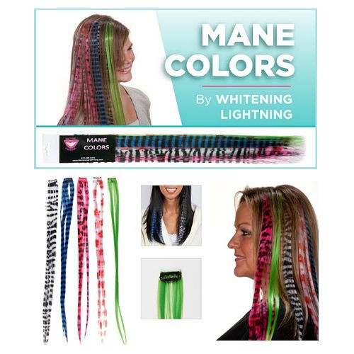 Whitening Lightning - Mane Colors Hair Extension Clip Ons *** FREE SHIPPING **