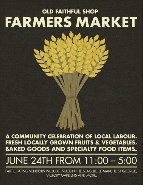 Poppytalk: Farmers Market at Old Faithful (Vancouver)