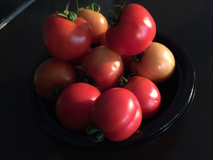 My Mum grew her own tomatoes