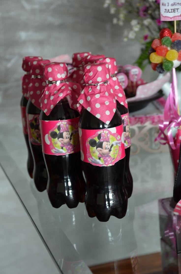 Botellas de gaseosas personalizadas aqu decoradas de - Decoracion de botellas ...