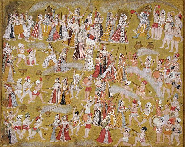 Dieu hindou de l'érotisme
