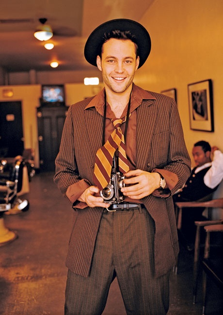 Young Vince Vaughn.