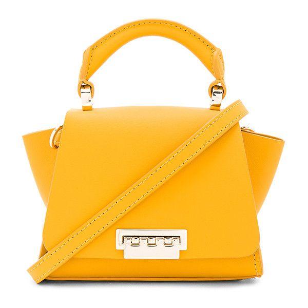 Zac Zac Posen Eartha Soft Top Handle Mini Crossbody (3.935.835 IDR) ❤ liked on Polyvore featuring bags, handbags, shoulder bags, handbag purse, mini purse, handbags crossbody, crossbody purses and mini shoulder bag
