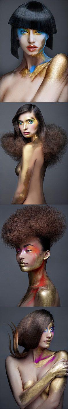 PHOTO: DAVID ARNAL HAIR: MAYTE GARROTE MAKE UP: DE MARIA