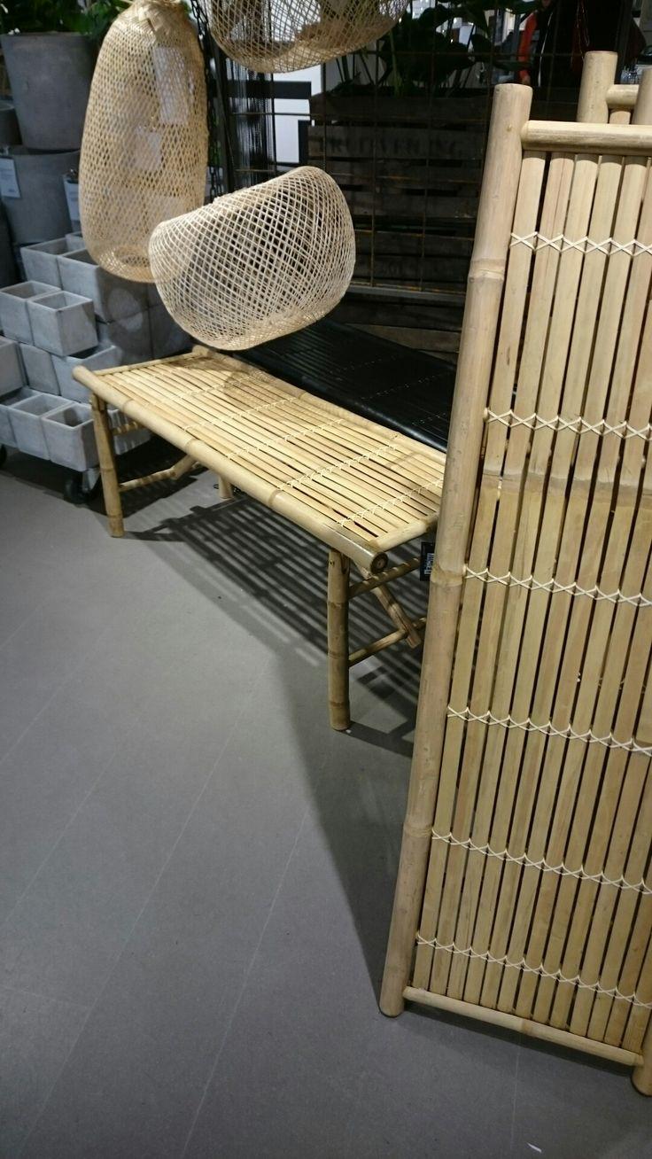 Granit Bambubänk och vikvägg