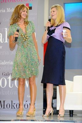 A good shape in a dress for Trinny