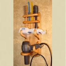 Hair Caddy - Flat Iron - Hair Dryer - Brush Comb Holders - organize hair supplies