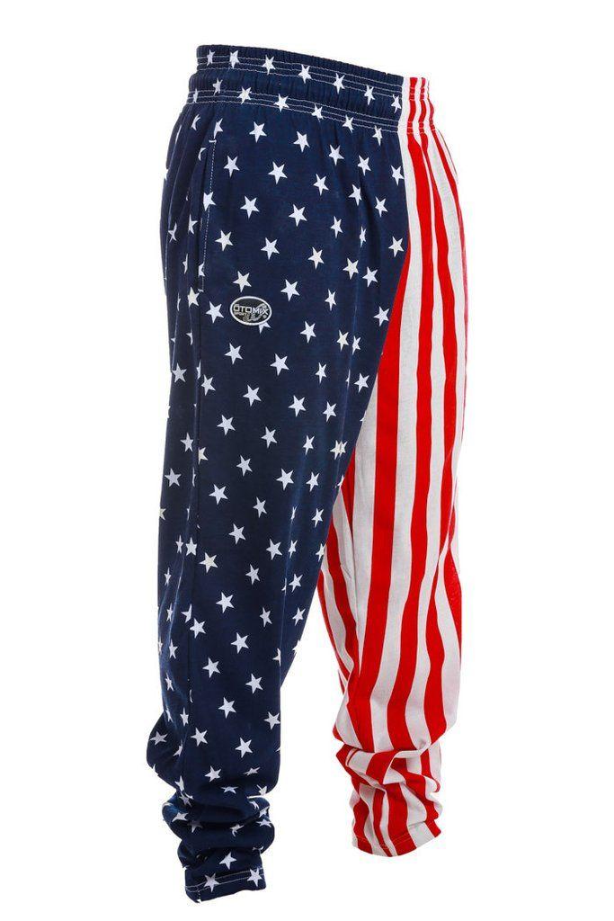 Rex Kwon Do American Flag Hammer Pants