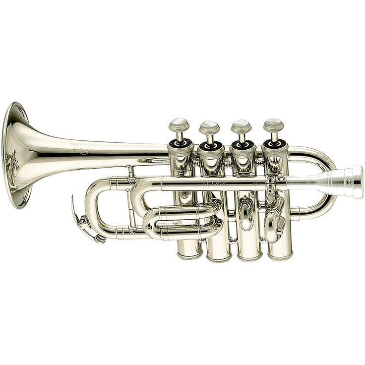 Amati ATR 383E Bb/A Piccolo Trumpet ATR 383ES Silver