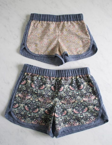 Corinne's Thread: City Gym Shorts for AllAges - Purl Soho - Knitting Crochet Sewing Embroidery Crafts Patterns and Ideas!
