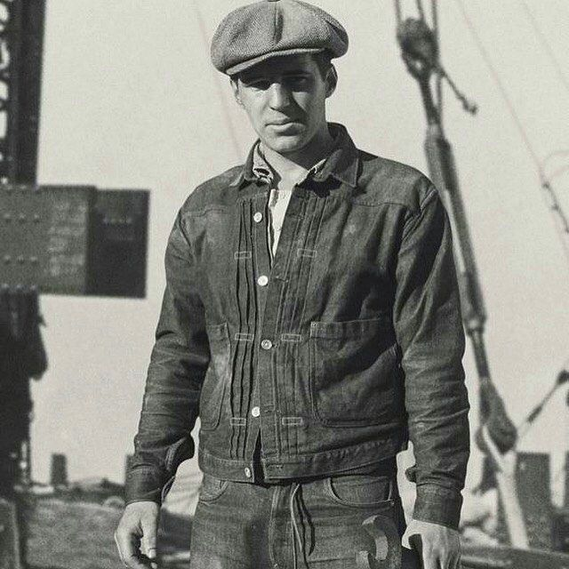 themanofyesteryear American construction worker 1930's#lee191#lelaboureur #therealmccoys #buzzricksons #hollywood #1950s #levis#lvc#levisvintageclothing #levisvintage#paraboot#aldenshoes#ruggedstyle#wrangler#redwing#redwingheritage#redwingshoes#redwingboots#selvedge#selvedgedenim #selvedgeforum#lelaboureur 2016/10/12 00:28:47