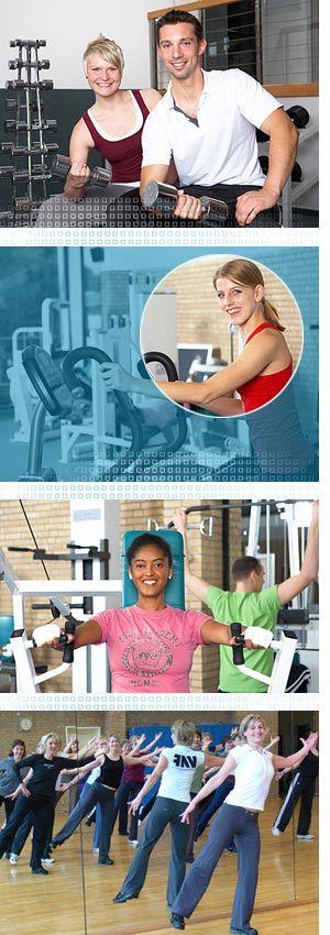 Studio für gesunde Fitness im VAF Fitnessstudio Hamburg - citysports.de Hamburg