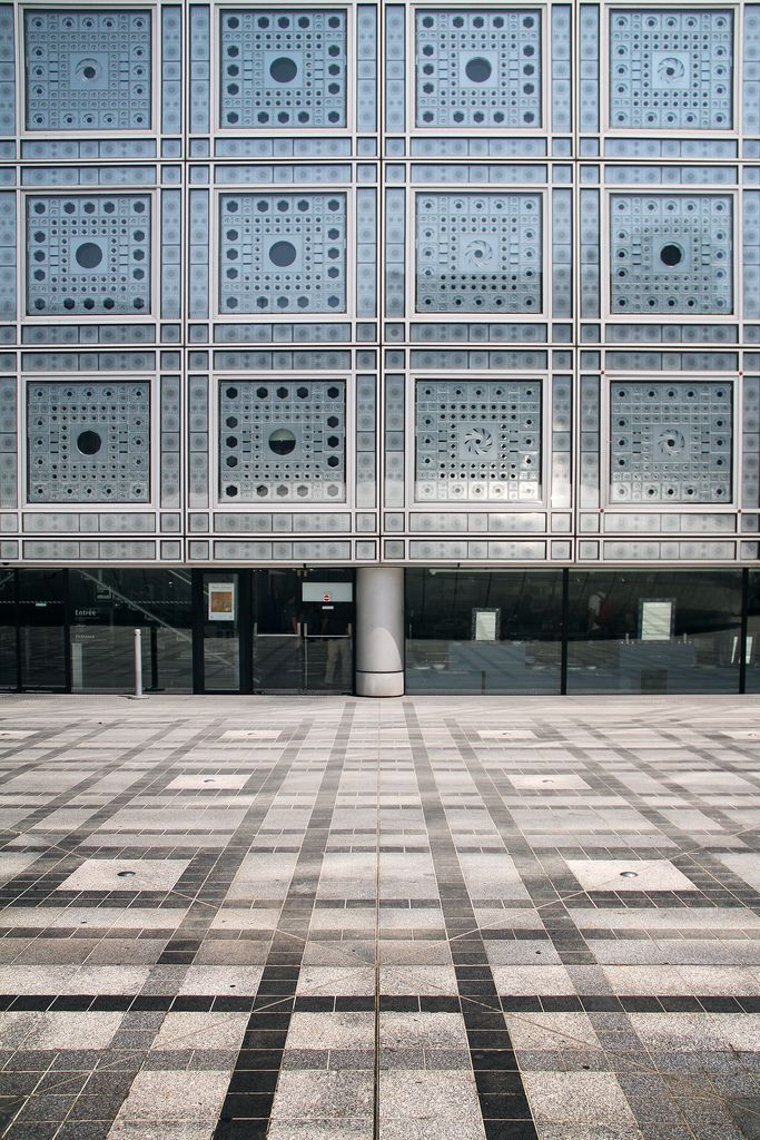 Institut du Monde Arabe by Jean Nouvel