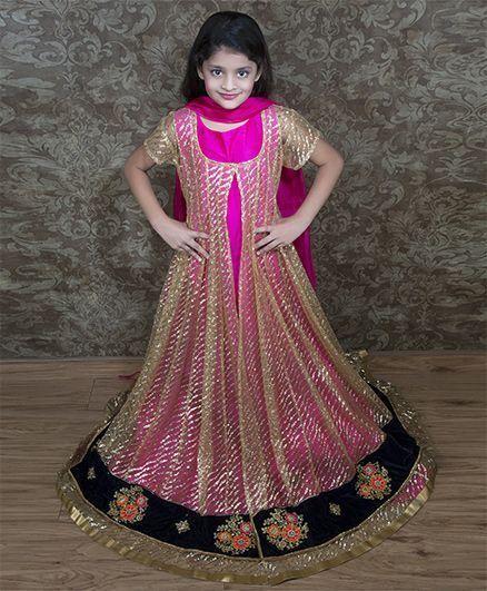 Shilpi Datta Som Anarkali Churidar