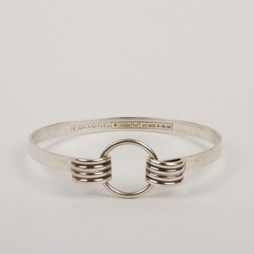 Erik Granit Sterling Bangle now featured on Fab.