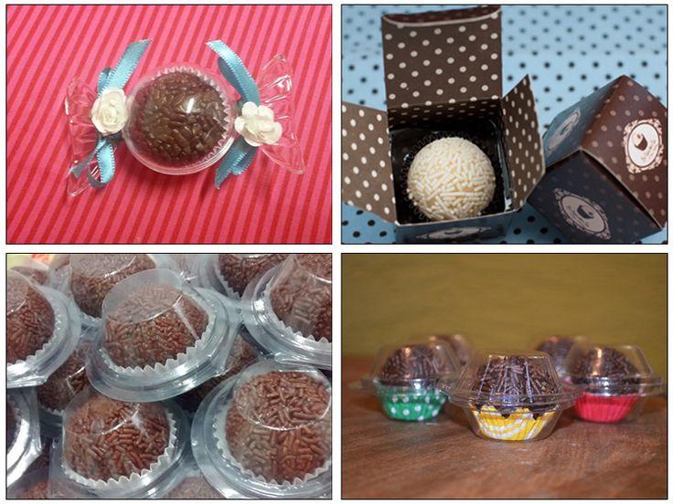 Embalagens Individuais para Brigadeiro Gourmet